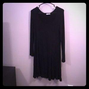 Women's black long sleeve LUSH dress Size M